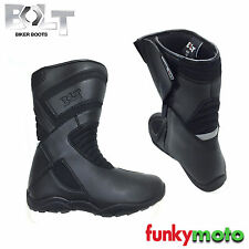 BOLT R44 BOOTS MOTORCYCLE MOTORBIKE SCOOTER TOURING ROAD TOUR REINFORCED PROTECT