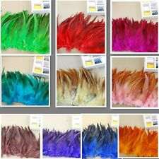 "50pcs beautiful  pheasant  feathers 10 to 15 cm / 4-6 ""inches Multi-Color Choose"