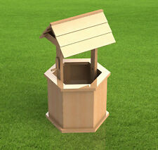 Yard and Garden Wishing Well Plans - Easy to Build - Digital Plans Only