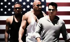 Leinwandbild Mark Wahlberg Anthony Mackie Pain and Gain Leinwand Bild Loft 116