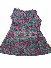 Girls Mini Boden Purple & Jade Jersey Tunic Dress Age 2 3 Years