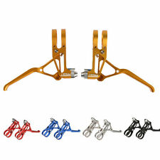 AEST Aluminum MTB V Brake Lever Mechanical Disc Brake Lever CNC 70g 1pair