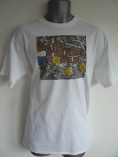 THE STONE ROSES LOGO MENS T-SHIRT IAN BROWN JOHN SQUIRE RENI MANI MADCHESTER