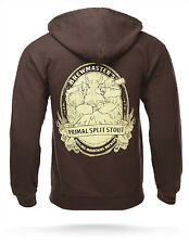 Dota 2 Brewmaster Zip-Up Brown Hoodie w/ Free Shipping