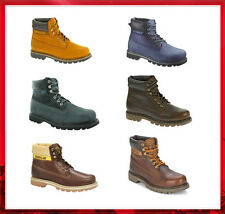 """Cat Footwear Mens Colorado 6"""" Boots Ankle Leather Sale RRP£125"""