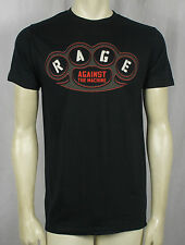 Authentic RAGE AGAINST THE MACHINE Brass Knuckles Slim Fit T-shirt S M L XL NEW