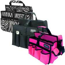 Wahl Tool Bag Carry- Perfect for Hairdresser, Barber, Zebra, Black, Pink & Polka