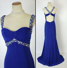 ALYCE PARIS 35498 B' Dazzle Royal Evening Prom Dress $300 NWT- Avail Size 4,6,14