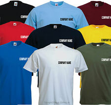 Personalised T-Shirt Business Advertising