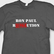 Ron Paul Election Revolution funny T-shirt President USA Tee Shirt