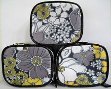 OPI BLACK FLORAL COSMETIC PURSE for mini polish, lipstick, etc. NEW, Party Gift!