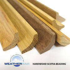 Oak Hardwood Scotia Beading for Wood & Laminate Floors. 2400mm & 914mm Lengths