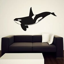 Orca Wall Decal, Killer Whale Sticker