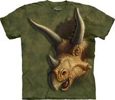New TRICERATOPS HEAD DINOSAUR Youth T Shirt