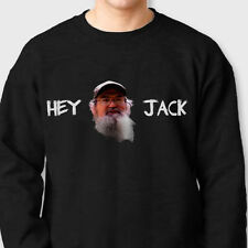 HEY JACK Duck Commander T-shirt Funny Uncle Si Crew Neck Sweatshirt