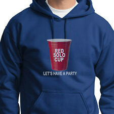 RED SOLO CUP Lets Party T-shirt funny Drinking College Hoodie Sweatshirt