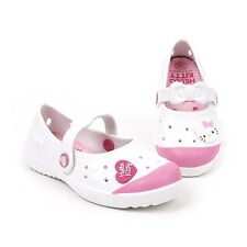 Hello Kitty Kids Casual Shoes for Girls School Clog Slippers White BONY Cheap