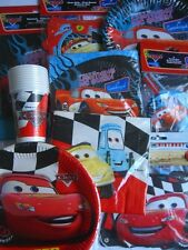 DISNEY CARS PARTY RANGES (Birthday Decorations & Balloons) Large Choice of Items