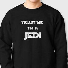 Trust Me Im A Jedi Funny Darth Vader T-shirt Star Wars Crew Neck Sweatshirt