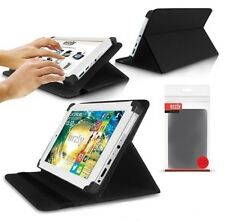 """Orzly Luxfolio Stand Leather Case Wallet for Bush Mytablet 7"""" Argos Tablet"""