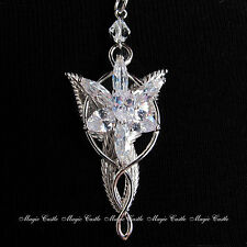 Lord of the Rings Hobbit Ring Evenstar Oakenshield Key Necklace Leaf Brooch