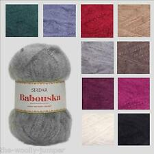 1/2 PRICE - SIRDAR BABOUSKA CHUNKY KNITTING WOOL YARN - VARIOUS SHADE OPTIONS