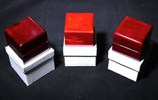 Cherry Rosewood Solid Wood Box Wooden The Ring Jewelry Box--P