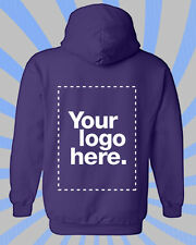 Create Your Own Hoodie - Adults Personalised Gift Unique Workware Purple