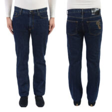 Versace Collection Regular Fit Blue Jeans size US 30 32 34 36 38 40