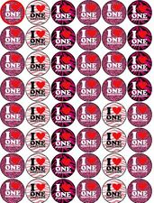 1D ONE DIRECTION LOGO V2 EDIBLE WAFER PAPER CAKE CUPCAKE MUFFIN TOPPERS