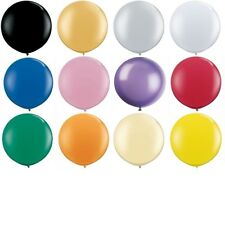 "10 GIANT 3FT LATEX BALLOON 36"" INCHES ~ PARTY ~ WEDDING ~ UK SELLER ~ FREE P&P"