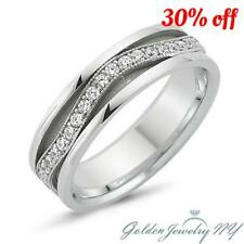 Mens Women 925 STERLING SILVER Comfort Fit Wedding Band 4MM - 7MM size 4-13