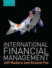 NEW International Financial Management by Jeff Madura Book & Merchandise Book Fr