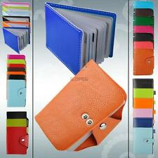 id credit business card wallet pu leather holder organizer case box pocket pouch