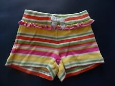 NWT Girl's Gymboree Island Lily striped yellow pink shorts ~ 6-12 months 2T 3T