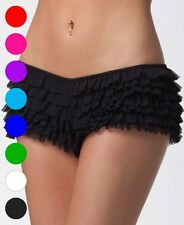 Ruffle Shorts With Bow - Coquette 114