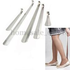 Durable Stainless Steel Shoe Horn Lifter Shoehorn Long Handle 16-58cm 5 Sizes