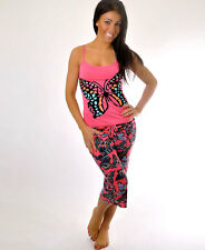Butterfly Pajama Set - Pink