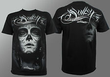 Authentic SULLEN CLOTHING My Love Tattooed Girls Face Logo T-Shirt M-5XL NEW