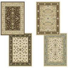 "Traditional Oriental Vines Area Rug 5x8 Persian Border Carpet - Actual 5'2""x7'2"""