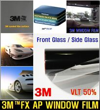 "3M/TM WIDE:30""/VLT50% Black Solar Film/Tint/Window/Glass/Normal/Privacy/Roll/"