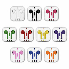 Earbuds Earphone Headset Remote Micphone For Apple iPhone 5S 4 iPod iTouch