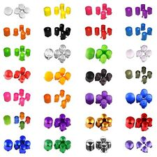 Custom ABXY & Guide Buttons for Xbox 360 Wireless/Wired Microsoft Controllers