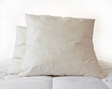65 x 65cm Square Euro Continental Duck Feather Pillow Available Single Or Pair