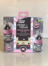 TOMMEE TIPPEE ROYAL BABY GIFT PACK X 4 260ML BOTTLE PRINCE/PRINCESS 0M+ BPA