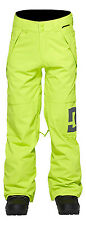 DC Factor Snowboard Pants Lime Youth