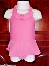Girls One-piece Circo Swimsuit with skirt - 9 months - Pink - Ruffle,rose - NWOT