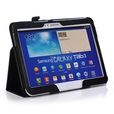 PU Leather Folio Case Cover for Samsung Galaxy Tab 3 10.1 tablet GT-P5200