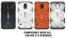 For Samsung Galaxy S5 S V Urban Armor Gear UAG Composite Hybrid Case + Screen