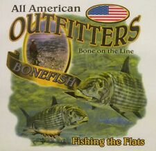ALL AMERICAN OUTFITTERS BONEFISH FISHING THE FLATS FISH SHIRT #1839